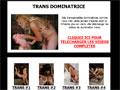 Trans dominatrice